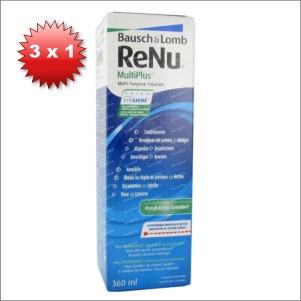 RENU MULTIPLUS SOLUTION FLIGHT 3 x 360ML
